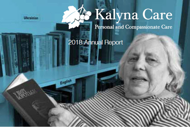Kalyna Aged Care Annual report 2018